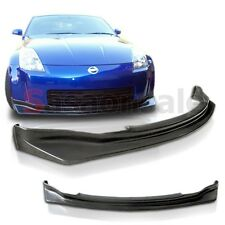 Made for 2003-2005 Nissan 350Z Fairlady Z NS Style JDM Front PU Bumper Lip