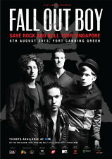 "032 Fall Out Boy - American Rock Band Music Stars 14""x20"" Poster"