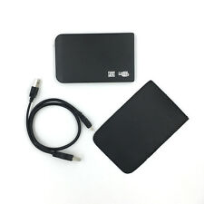 "New 250GB External Portable 2.5"" USB Hard Drive With Warranty Free Pouch Black"