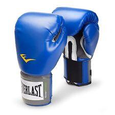 Everlast Pro Style Training Gloves Blue 12 oz.
