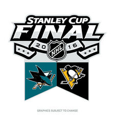 San Jose Sharks Pittsburgh Penguins Stanley Cup Dueling Lapel Pin