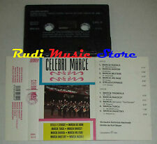 MC CELEBRI MARCE 1991 1 stampa italy MUSIC MARKET MMK 6019 cd lp dvd vhs