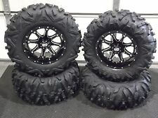 "HONDA PIONEER 1000 28"" MAXXIS BIGHORN RADIAL ATV TIRE & 14"" HD4 WHEEL KIT 137L5"
