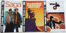 3  Image Firsts Comics   SAGA   MANIFEST DESTINY   THE NIGHTLY NEWS