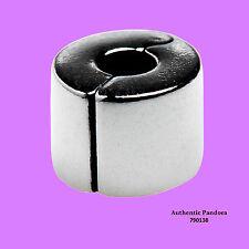 Pandora Clip Plain in Silver, 790138
