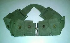 WWII US Military Army Issue 10 Pouch Ammo Belt