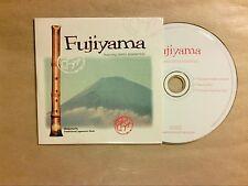 RARE CD PROMO 3 TITRES / FUJIYAMA, SHAKUHACHI JAPANESE FLUTE / TRES BON ETAT
