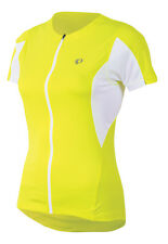 Pearl Izumi Women's Select Bike Cycling Jersey Screaming Yellow - Large