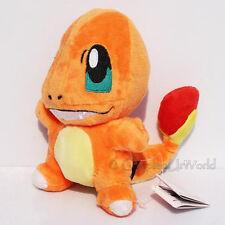 """6"""" Pokemon Charmander Fire-type Soft Plush Doll Figure Stuffed Toy Gift PKM #004"""