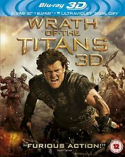 WRATH OF THE TITANS - 3D / 2D Blu Ray Disc -