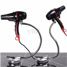 360 Degree Rolling freely Wall Mount Hands Free Hair Dryer Holder Stand Suction
