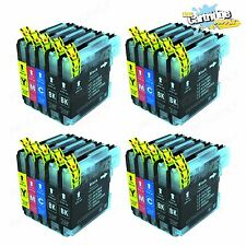 20PK New LC61 Ink Cartridges For Brother MFC-295CN MFC-385CW MFC-490CW MFC-290C