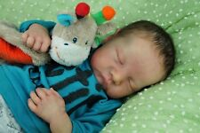 Custom Reborn Baby from the Levi kit by Bonnie Brown - Art Doll