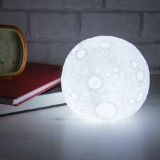 Moonlight Table Lamp Moon Night Light Outer Space Mood Light Kids Space Glow LED