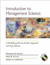 Introduction to Management Science: A Modeling & Case Studies Approach-ExLibrary