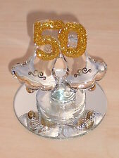 50th ANNIVERSARY BELLS@Cooking~Gift@Cake Topper@Mirror Decoration@GOLDEN WEDDING