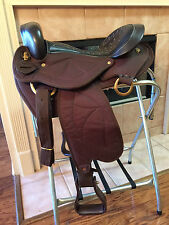 "16"" TN Saddlery Quilted Gaited Western Saddle   ""scratch and dent"""