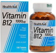 HEALTH AID VITAMIN B12 1000UG - 100 TABLETS