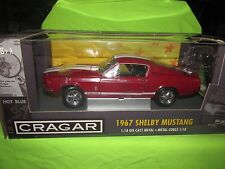 1967 67 shelby  MUSTANG ford crager gt 500  american muscle ertl 1/18 hobby ed