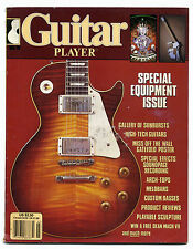 GUITAR PLAYER Magazine March 1985 Special Equipment issue with mint FLEXI DISC