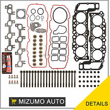 04-07 Dodge Ram Jeep Grand Cherokee 4.7 SOHC VIN J, N, P Head Gasket Set Bolts