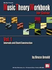 Mel Bay Music Theory Workbook for Guitar, Bruce Arnold, New Book