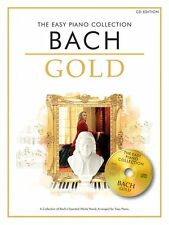 The Easy Piano Collection Bach Gold Sheet Music Book