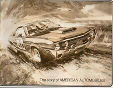 AMC NOS 68 69 70 Kenosha WI factory book AMX Ambassador Javelin Rebel photos