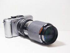 80-200mm= lens 160-400mm on LUMIX G HD 4K Micro 4/3 Digital PEN OMD PL6 GF2 G2