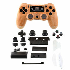 Hot Wireless Controller Gehäuse Case Wood +Button +Schraubendreher Für Sony PS4