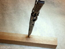 "Grey Wolf Knife ""Senior"" rifle Handle ,Limited 4 3/4 "" unfolded Great gift"