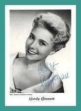 GARDY GRANASS | Schauspielerin | Original-Autogramm auf Autogrammkarte