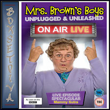 MRS BROWNS BOYS - UNPLUGGED & UNLEASHED - ON AIR LIVE  *BRAND NEW DVD **