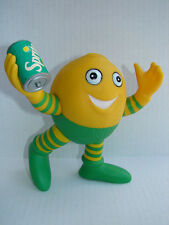 "RARE 1990 Coke's Sprite Lucky Lymon Battery Figure 6"" Arms & Legs Move WORKS !"