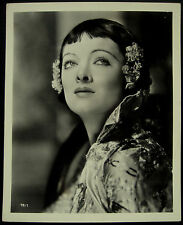 Vintage Original Myrna Loy Mask Of Fu Manchu 1932 Photograph