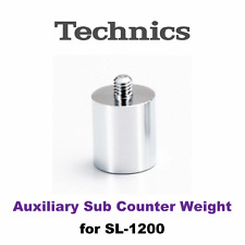New Technics Parts Auxiliary Sub Counter Weight SL1200 SL1210 SFPWG17202-1