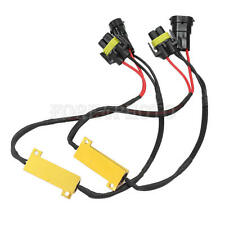 2pcs H8 H11 Car Turn Signal LED Lights Lamps Bulbs CANBUS Resistor 50W 6ohm
