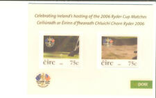 Ireland-Ryder Cup Min sheet-lenticular-moving ball and club !! mnh