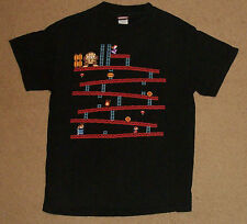 Nintendo Donkey Kong Arcade Stage Mario Pauline Shirt Medium Authentic