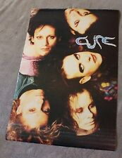 Cure 1992 Faces Robert Smith Simon Gallup Jason Cooper Brockum Poster #7195 VG