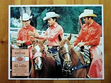 J W COOP Original WESTERN HORSES Lobby Card CLIFF ROBERTSON R G ARMSTRONG