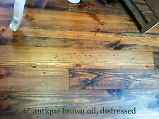 """2400 sq.ft. 8"""" prefinished distressed wide plank plank pine flooring ready now"""