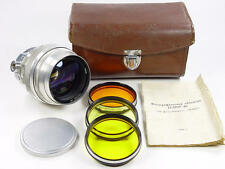 Vintage 1961 made. Early silver portrait Helios 40 1.5 85mm M42. s/n 612437