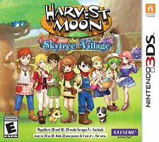 Harvest Moon: Sky Tree Village [Nintendo 3DS, NTSC, Natsume RPG Simulation] NEW