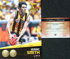 ISAAC SMITH SIGNED HAWTHORN 2014 PREMIERS HEROGRAPH GRAND FINAL AFL PHOTO
