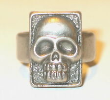 The Phantom Movie Promo Metal Skull Ring, 1996 MINT UNUSED