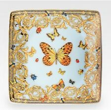 VERSACE BUTTERFLY DESSERT BREAD PLATE LE JARDIN ROSENTHAL NEW IN BOX SALE