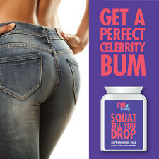 GYM BUNNY SQUAT TILL YOU DROP BUTT ENHANCER PILLS – PERFECT CELEBRITY BUM