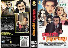 Delitti e profumi (1988) VHS