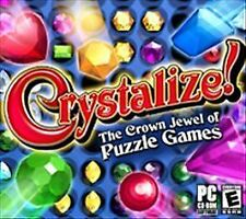 Crystalize (PC, 2005)THE CROWN JEWEL OF PUZZLE GAMES - SHIPS FREE - $9.95